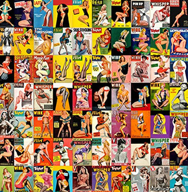 Pin Up Posters 14x14cm Greetings Card