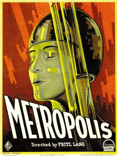 Metropolis Movie Poster Art Print 40x30cm (MSP0042) - On the Wall Art Print Posters & Gifts