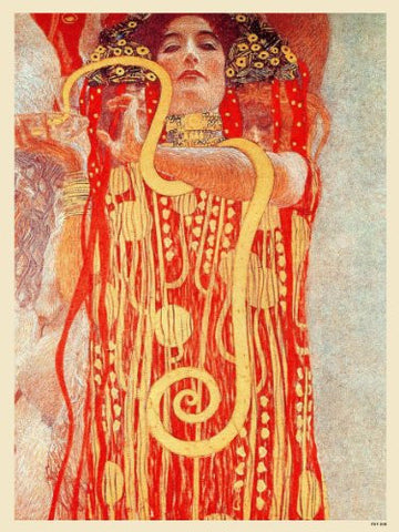 Gustav Klimt Hygieia Art nouveau Poster Art Print 40x30cm (PDP 008) - On the Wall Art Print Posters & Gifts