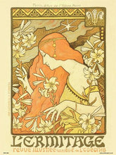 Load image into Gallery viewer, Art nouveau Poster Art Print by Paul Berthon Lermitage (PDP 039) - On the Wall Art Print Posters & Gifts