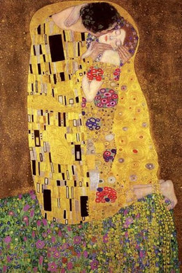 Gustav Klimt the Kiss Regular Poster (61x91.5cm) - On the Wall Art Print Posters & Gifts