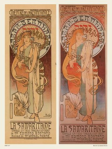 Art nouveau Poster Art Print by AlphonseMucha La Samaritaine - On the Wall Art Print Posters & Gifts