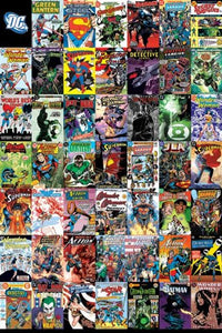 DC Comic Cover Montage Regular Poster (61x91.5cm) - On the Wall Art Print Posters & Gifts