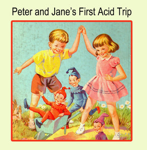 Peter and Jane Greetings Card 14x14cm