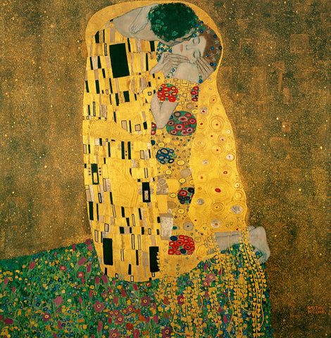 Gustav Klimt Greetings Card 14x14cm