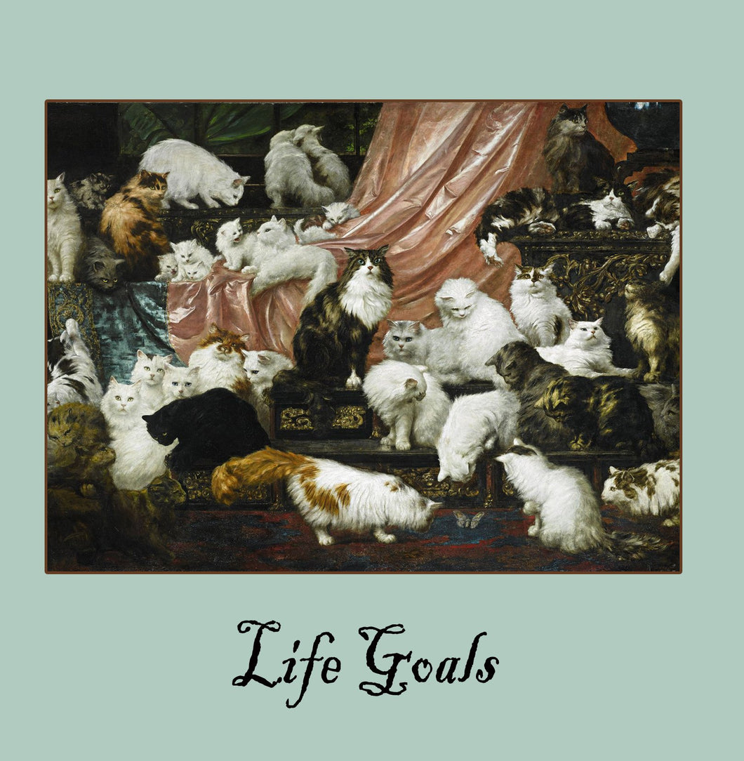 Life Goals Greetings Card 14x14cm