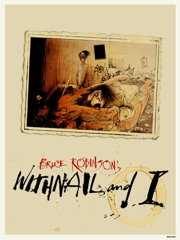 Withnail and I Ralph Steadman 30x40cm Art Print Poster