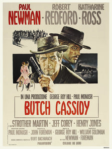 Butch Cassidy and the Sun Dance kid 30x40cm Art Print Poster
