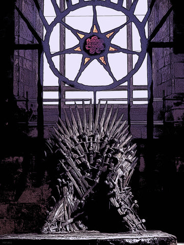 Iron Throne - Game of therones Poster Art Print 30x40cm