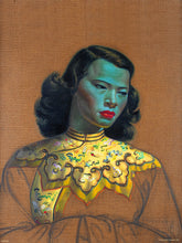 Load image into Gallery viewer, Vladimir Tretchikoff Chiniese Girl Art Print Poster 30x40cm