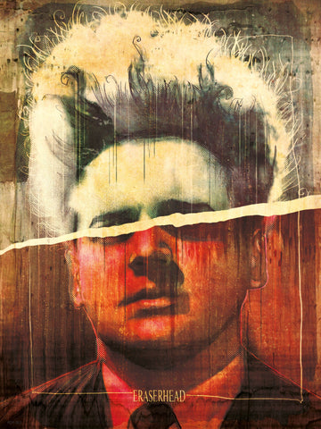 Erasurehead Poster Art Print 30x40cm