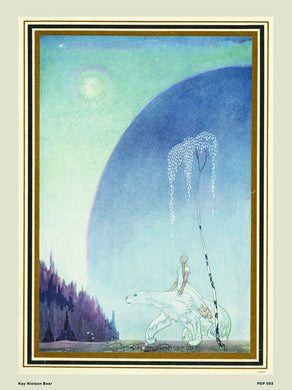 Kay Nielsen East of the Sun West of the moon Fairytale Bear Natural History 30x40cm Art Poster Print