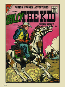Billy The Kid Comic Poster Art Print