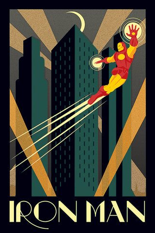 MARVEL DECO (IRON MAN) 61x91.5cm Poster