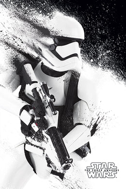 STAR WARS EPVII (STORMTROOPER PAINT) 61x91.5cm Poster