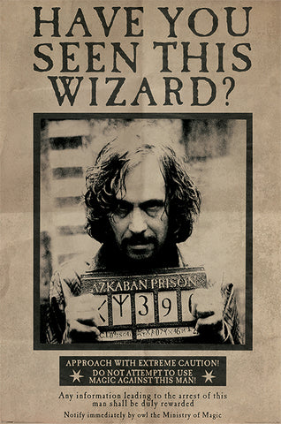 HARRY POTTER (WANTED SIRIUS BLACK) MAXI POSTER