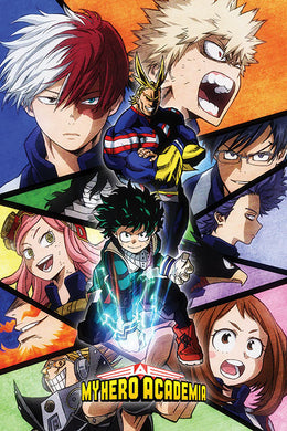 MY HERO ACADEMIA (CHARACTERS MOSAIC) 61x91.5cm Poster