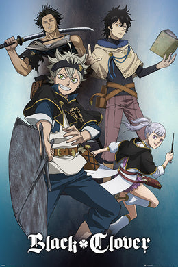 BLACK CLOVER (MAGIC) 61x91.5cm Poster