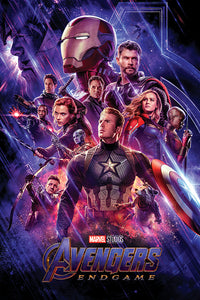 AVENGERS ENDGAME (JOURNEY'S END) 61x91.5cm Poster