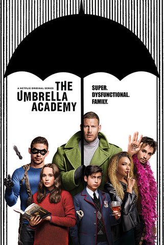 The Umbrella Academy (Super Dysfunctional Family) Poster 61x91.5cm