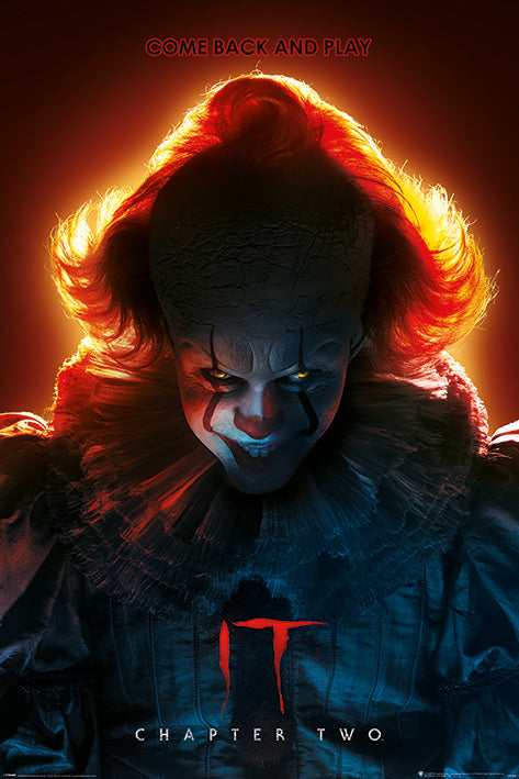 IT CHAPTER TWO (COME BACK AND PLAY) 61x91.5cm Poster