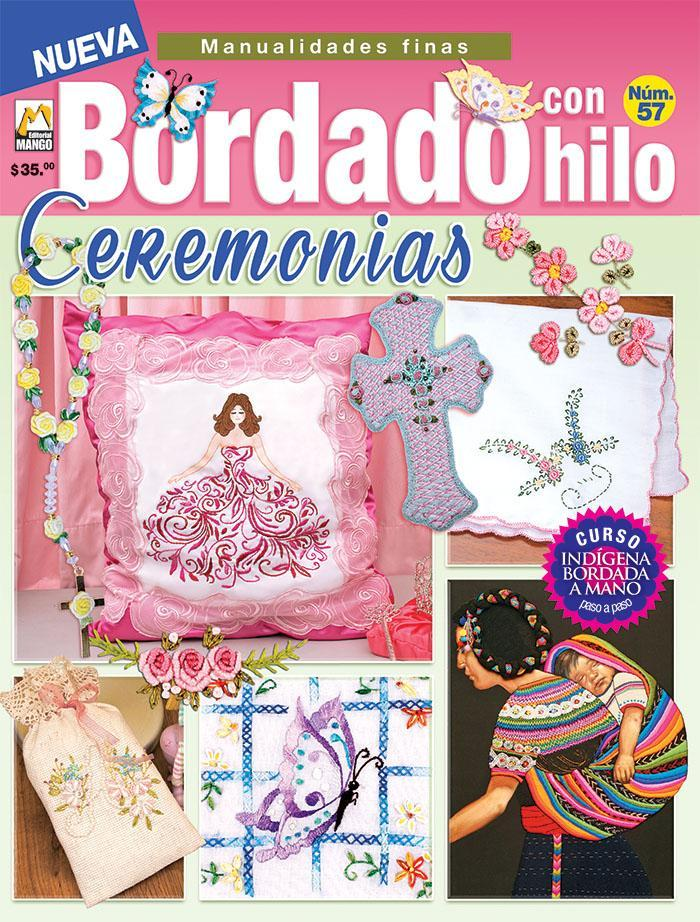 Bordado con Hilo 57 - Ceremonias - Formato Digital