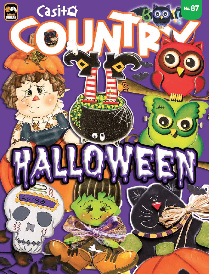 Casita country 87 - Halloween - Formato Digital - ToukanMango
