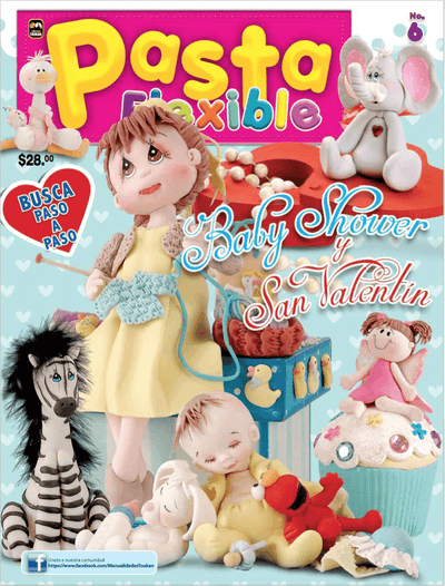 Pasta Flexible 6 - Baby shower y San Valentin - Formato Digital - ToukanMango