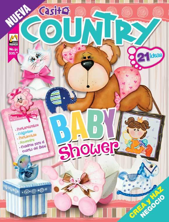 Casita country 91 - Baby Shower - Formato Digital - ToukanMango