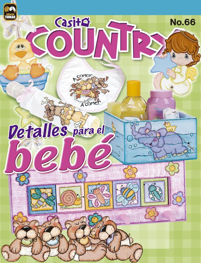 Casita Country 66 - Detalles para el Bebé - Formato Digital