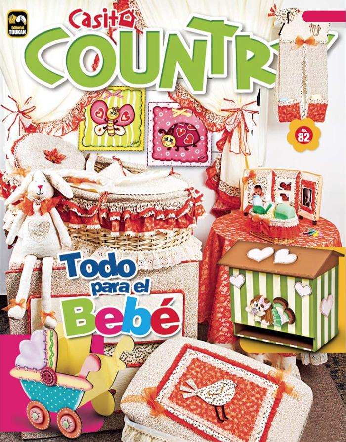 Casita country 82 - Todo para el bebé - Formato Digital