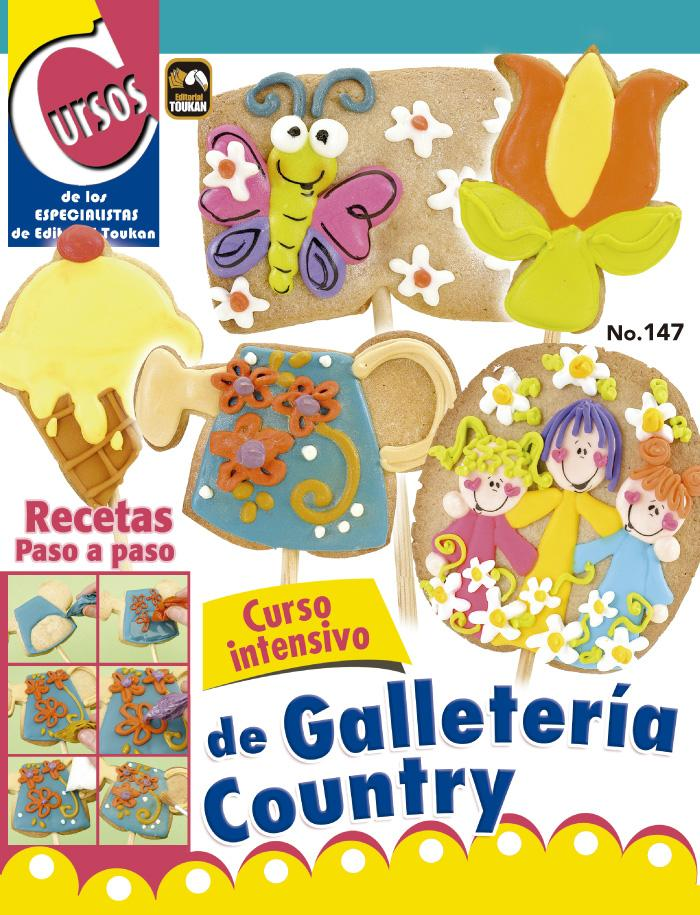 Cursos de los Especialistas 147 - Curso Intensivo de Galletería Country - Formato Digital