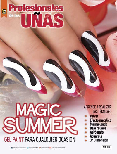 Profesionales de las Uñas 115 - Magic Summer - Formato Digital - ToukanMango