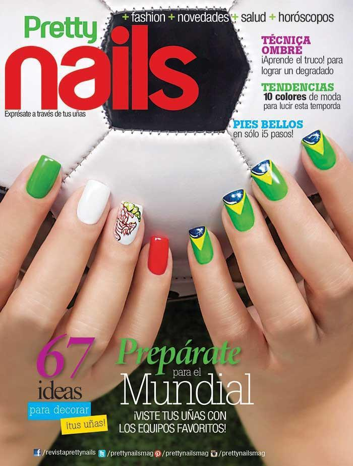 Pretty Nails 11 Ideas Para Decorar Tus Uñas Formato Digital