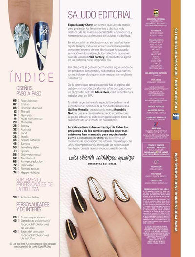 Profesionales de las Uñas 122 - Magic & Color - Formato Digital - ToukanMango
