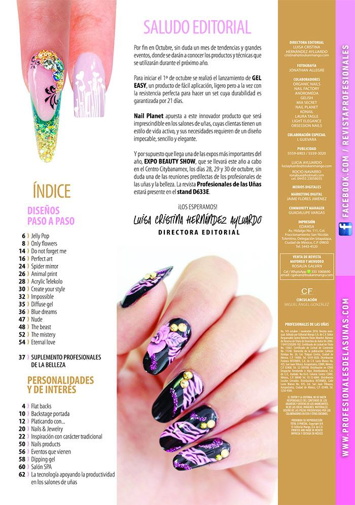 Profesionales de las Uñas 145 -  Gel easy by nail planet - Formato Digital