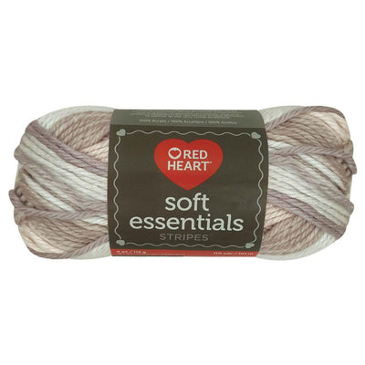 Estambre Soft Essentials, Marca Red Heart, Bolsa con 3 Madejas de 113 g a precio de 2