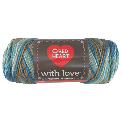 Estambre With Love Matizado, marca Red Heart, Madejas de 141 gr