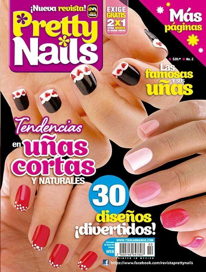Pretty Nails 2 - Tendencias en uñas cortas y naturales - Formato Digital
