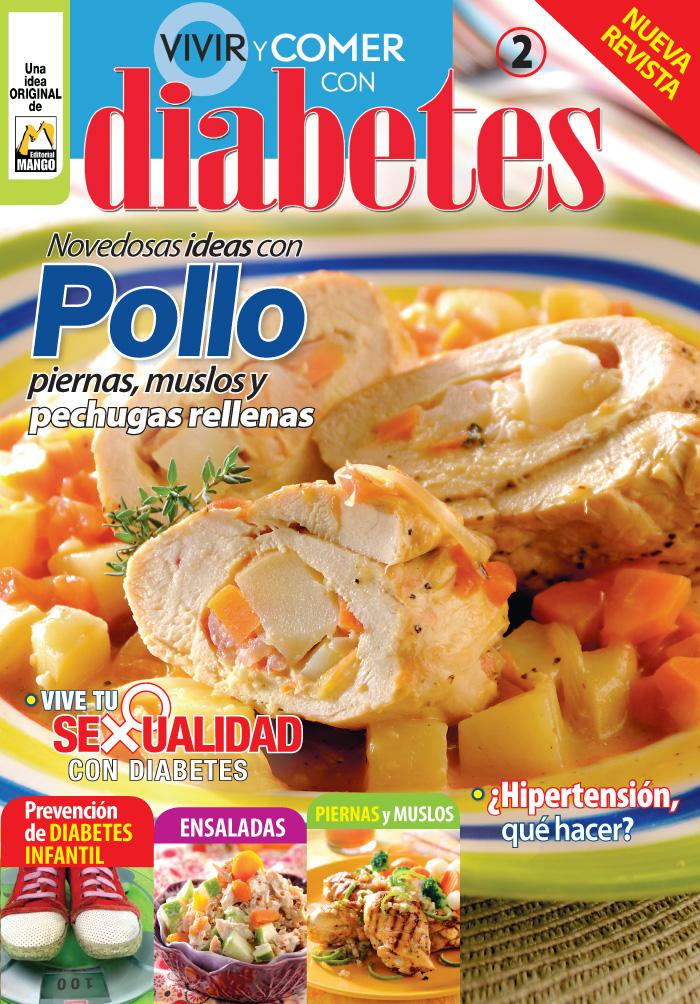 Vivir y Comer con Diabetes 02 - Novedosas Ideas con Pollo - Formato Digital