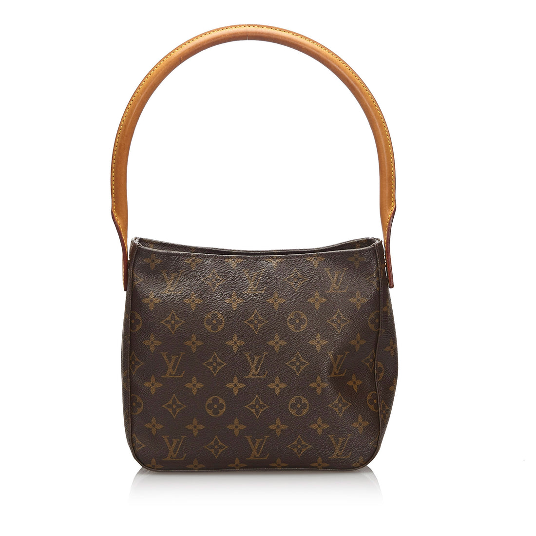 Louis Vuitton Vintage 2002 Monogram Looping MM Top Handle Bag