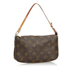 Monogram Pochette Accessoires Small Zip Top Bag