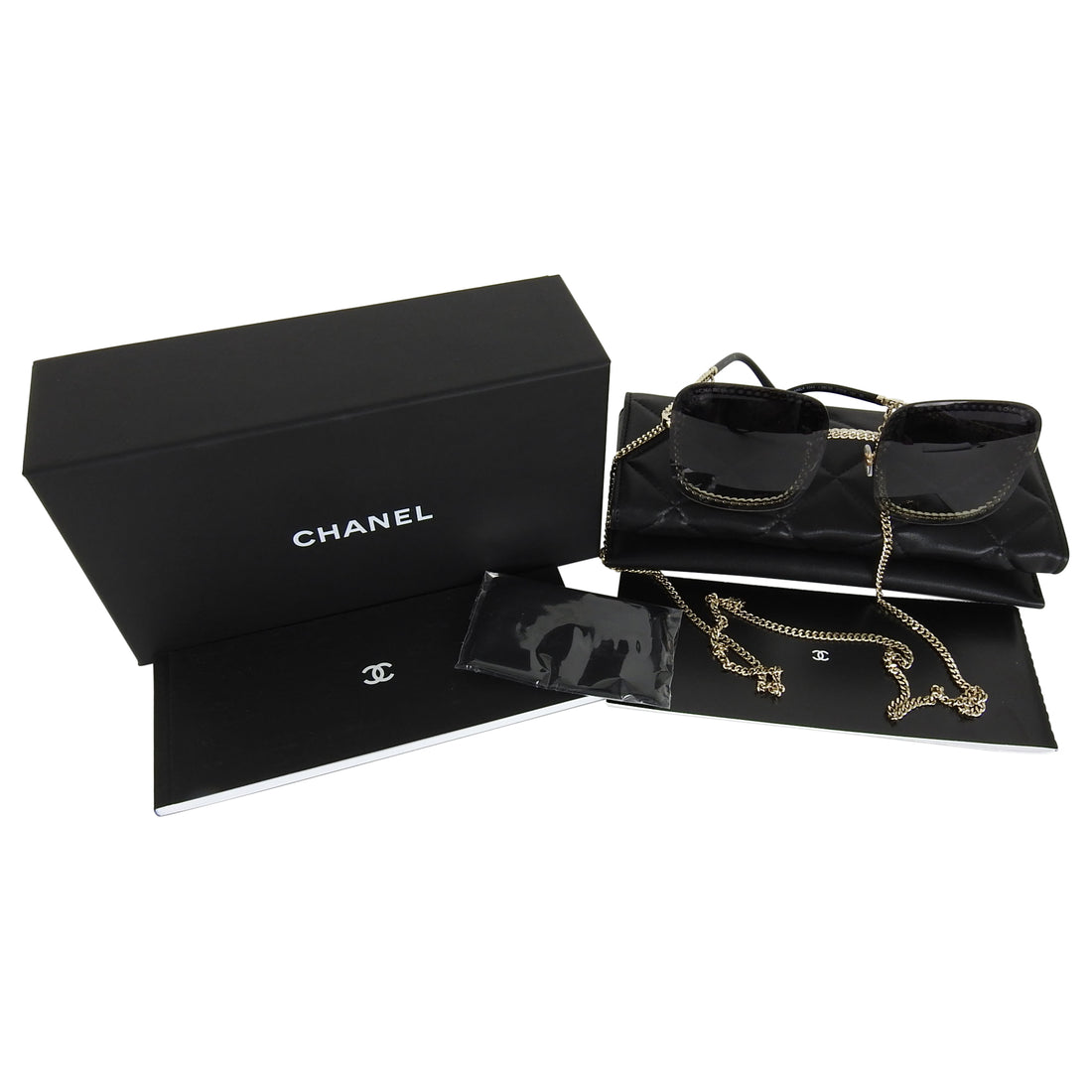 Chanel Square Chain Sunglasses 4244.