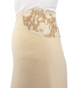 Stella McCartney Patchwork Belinda Brocade Asymmetrical Skirt - M