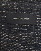 Isabel Marant Grey and White Knit Fitted Sweater Jacket - 6