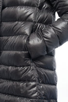 Herno Dark Grey Down Filled Puffer Coat - M