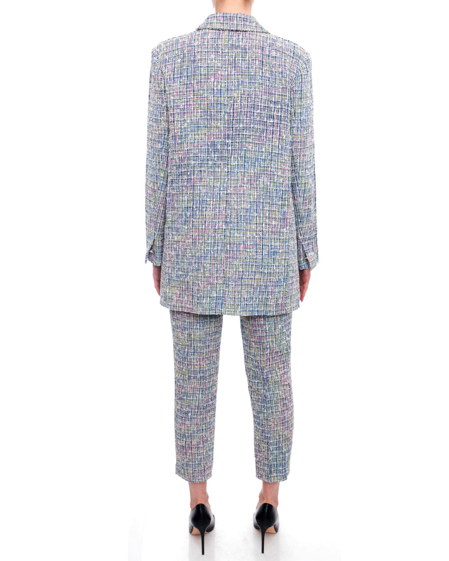 Chanel Spring 2014 Runway Multicolor Pants Suit - 38