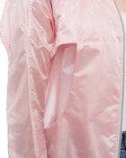 Chanel 17P Pink Light Nylon Zip Jacket - 38