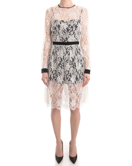 Erdem resort 2014 White Lace 1950s style Dress - S