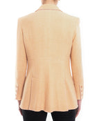 Chanel Vintage 2003 Resort Peach Tweed Jacket - M